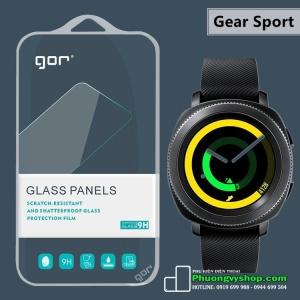 Dán cường lực hiệu GOR cho Samsung Gear Sport (combo 2 miếng dán)